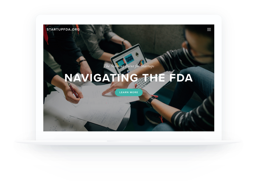 StartupFDA - Free resources on navigating the FDA